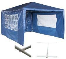 Coperture e teli blu per l'arredamento da esterno