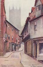 LINCOLN ( Lincolnshire) : Early Morning,The Strait-MACKINDER- J.W.RUDDOCK