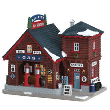 NEW 2017 LEMAX CHRISTMAS VILLAGES BIG PINE GAS STATION #75205