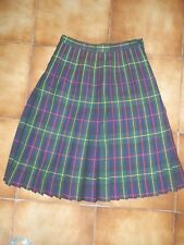 JUPE 100 % LAINE THE SCOTCH HOUSE ECOSSAISE TAILLE 34 36