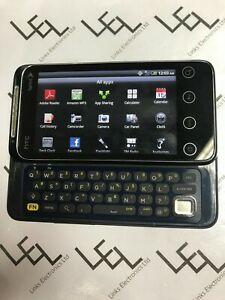 HTC Evo Shift 4G Sprint PG06100 Blue Touch Screen and QUERTY Keyboard Grade A