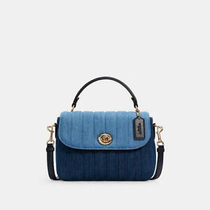 COACH Marley Top Handle Satchel with Quilting C2832 H17.5 x W24 x D7cm