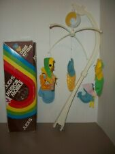 Vintage Judi's Three Kittens Musical Baby Mobile~It's A Small World~Works!