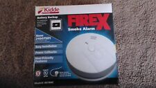 Kidde FIREX Hardwire Smoke Alarm Detector 120V AC wire-in w/ Battery Backup