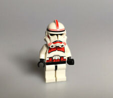 Lego ® Star wars figura Clone Trooper rojo de set 7655/7671 sw091/sw189