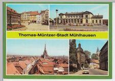 (102032) AK Mühlhausen (Thür.), Mehrbildkarte 1986