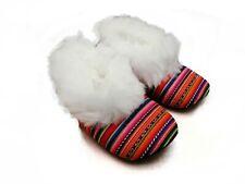 Unisex's Alpaca Slippers Handmade