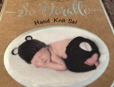 NEW So 'Dorable Newborn Baby Unisex Photo Shoot Prop Costume Set Brown Bear