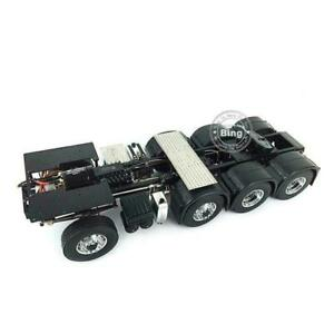 LESU 1/14 Heavy-duty Metal Chassis Scania 8*8 RC Tractor Truck Model Car Motor