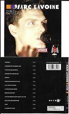 CD MARC LAVOINE LIVE 13 TITRES TBE