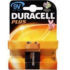 DURACELL PLUS PILA ALCALINA 9V PP3 dimensioni standard