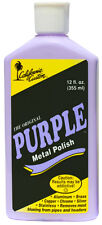 CALIFORNIA CUSTOM - THE ORIGINAL PURPLE METAL POLISH, ALUMINIUM, BRASS, CHROME