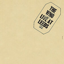 The Who Live at Leeds 180gm Vinyl LP Remastered Gatefold 2017 &