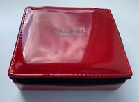 CHANEL COSMETIC/MAKEUP BAG SMALL RED LE 2019 VIP GIFT