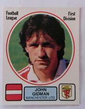 Panini football 82 #156 John Gidman - Manchester United