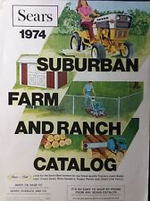 Sears 1974 Suburban Farm Catalog COLOR Lawn Garden Tractor SS/16 ST 12 LT 10 8