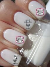 TATTY BEAR  Stickers ongles autocollant manucure nail art water déco