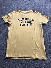 Ruehl 925 (Abercrombie & Fitch) T-Shirt - Yellow - Small