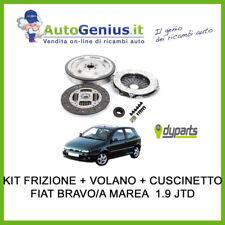 KIT FRIZIONE + VOLANO + CUSCINETTO FIAT BRAVO/A MAREA 1.9 JTD 100/105/110 CV