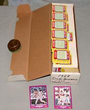 1988 Score Full Baseball Card Set of 660 Cards + 1 Full Subset + Full Traded Set