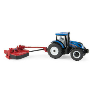 1/64 New Holland T6.175 MFD with H7230 Mower Conditioner NEW IN BOX