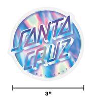 "6/"" Santa Cruz Classic Other Dot Yellow Big Skateboard Sticker Decal New"