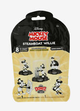"1 x STEAMBOAT WILLIE domez sealed BLIND BAG 3"" figure DISNEY MICKEY MOUSE unopen"