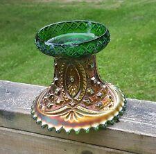Vintage Northland Carnival Glass Punch Bowl Base Pedestal Estate Auction58