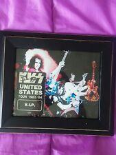 kiss backstage pass 1983/84 lick it  up v.i.p.