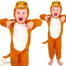 Garçon Fille Lion Combinaison Cat Jungle Semaine Du Livre Costume Déguisement