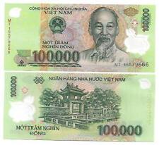 Vietnam 100000 100.000 Dong polimero UNC 2015 P 122