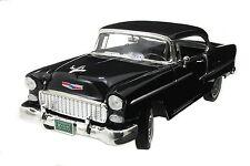 1:18 Motor Max Motormax Black 1955 Chevy Bel Air  Chevrolet