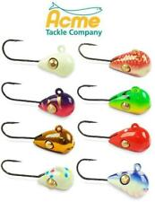 Acme Sling Blade Tungsten Free-Swinging Hook Ice Jigs 3mm 3Ts (Select Color)