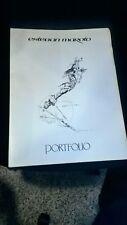 comic portfolio esteban maroto 10 laminas couche 40 x28 1979  conan tarzan