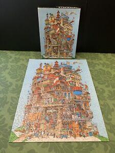 Vintage Springbok VERTICALVILLE 500+ Piece 1977 Jigsaw Puzzle Complete ~PZL4085