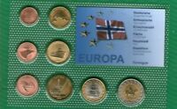 Norge Norway   set 8 coins 2006  .G.  UNC  ( A 9 )  PROFF + cetrificate animal
