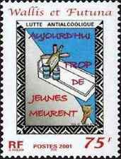 Timbre Santé Médecine Wallis et Futuna 549 ** année 2001 lot 8137
