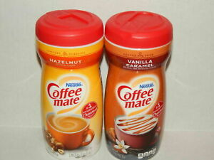 Coffeemate Creamer Variety Pack Combo Hazelnut & Vanilla Caramel Powder Creamer