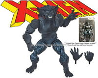 "Marvel Legends 6"" X-Men Age of Apocalypse DARK BEAST *NO* Sugar Man BAF *NO BOX*"