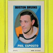 "PHIL ESPOSITO  '70-71  "" STICKER STAMPS ""  Topps #6   Boston Bruins  (002)"