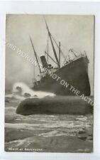 (Ld8390-475) Ship Wreck at RAVENSCAR 1905, Used VG