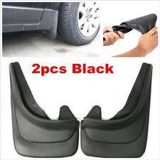 2pcs Universal Car SUV Accessories Fender Mud Flaps Black Molded Splash Guards