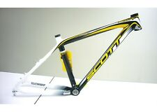 SCOTT SCALE RC 2010 v.brake+disc CARBON MTB FRAME SET sz M medium - EU VAT FREE!