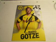 Mario Götze Borussia Dortmund BVB Autogrammkarte 2018/2019 2018/19 18/19.