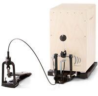 Cap 100 Cajon Pedal Foot Machine Incl. Base Plate +Bag