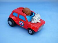 Vintage 1975 Matchbox Superfast No 14 Mini Ha Ha Red British Diecast Car Toy