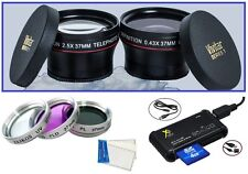 7-Pc Super Saving HD Accessory Kit for Panasonic Lumix DMC-GF5X (All Color)