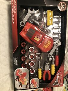 Cars 3 Tool Set Kids Toys Pretend Play Transform McQueen 32 Pc Brand NEW SEALED