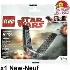 Lego - Polybag Star Wars vaisseau Kylo ren ren's Shuttle 30380 75104 NEUF