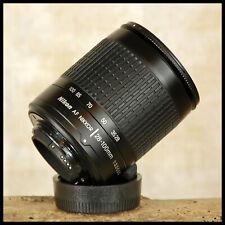 FREE UK POST CLEAN Nikon Digital fit AF 28 100mm G Black Zoom lens + Filter